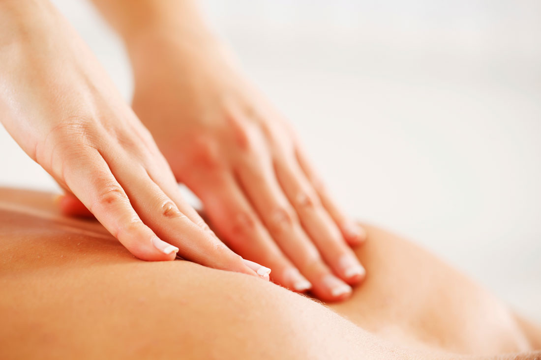 Deep tissue massage Relaxation for Breast Cancer